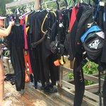 Outdoor drying racks