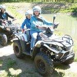 Rando en quad en famille