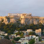 View of Acropolis from our room