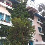 Vista Externa no Hotel Vieja Cuba