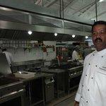 les cuisines et le Chef