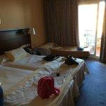 Habitación con cama supletoria