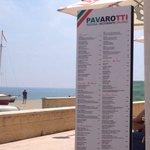Comida italiana a pie de playa