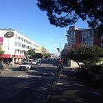 Blick von der Beach Street
