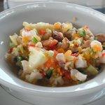 Conch salad at Seaside Village