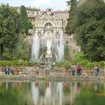 I giardini con fontana