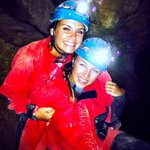 Me and my friend 160 feet below Budapest!