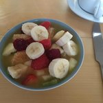 Breakfast - Fresh fruit salad