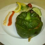 Aamilahs, Naga roast stuffed with chicken, veg or meat,