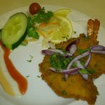 Aamilahs, king prawn butterfly,