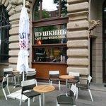 Puschkin Café und Weinlokal in Halle