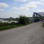The Old Iron Bridge which is part of the Camel Trail