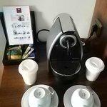 Coffee machine in rom