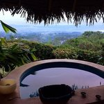 View from the spa hot tub/jalapas