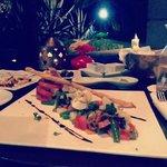 Tuna Nicoise Salad at Breakers Bar
