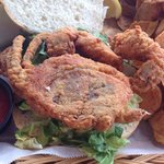 Blue Crab Sandwich