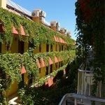 Балконы номеров