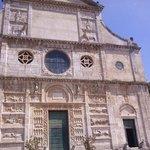 La facciata di San Pietro, Spoleto