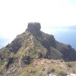 Skaros Rock from upfront