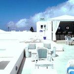 Bar extérieur et terrasse