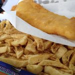 Amazing Gluten Free fish & chips