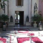 villa enterance
