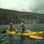 Kayakign Kealakekua Bay with Kona Boys.  The guides also offered to serve as photographers.