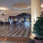 huge reception area