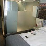 Bedroom showing shower room