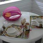 Breakfast on lanai