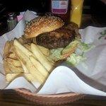 Bacon burger at Chili's - Detroit Airport