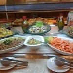 Buffet restaurante temático Bahia y Brasas
