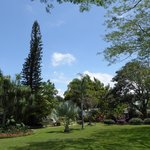 Part of the hotel's extensive gardens