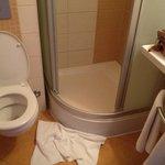 minuscule salle de bains