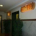 Reception corridor