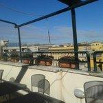 Rooftop- breakfast area