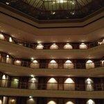 un hall prestigieux