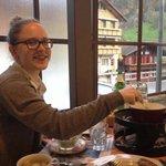 Delicious fondue!
