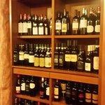 Una piccola parte dei vini