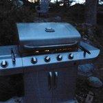 barbecue par cottage