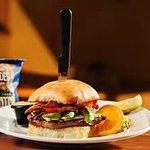 The Bacado Bun Burger
