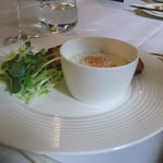 Salmon Rillettes with Horseradish Cream