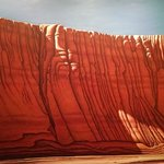 """Painting called """"Arroyo Wall"""""""