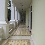 varanda da Colonial suite