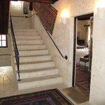 Escaliers et chambre