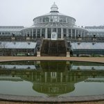 The gorgeous palm house.