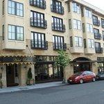 Ballard Avenue View & Stoneburner Restaurant