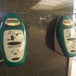ticket stamp machines