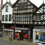 Half Timbered shops/homes from the Wall