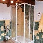 Ducha baño en suite habitación primera planta